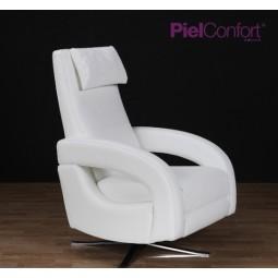 Sill n relax modelo comet piel confort deco asencio for Sillones piel confort