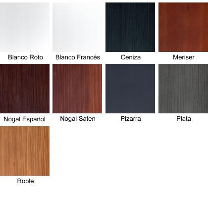 Composici n amares nf seleccion 1 decoasencio - Muebles de madera color nogal ...
